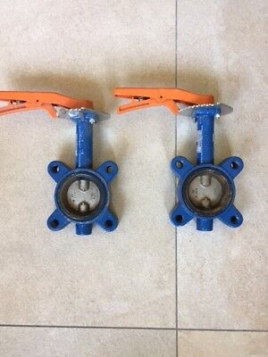 Wolseley Jet PN 160 DJLM Butterfly Valve 16 BAR 316 Stainless DN65