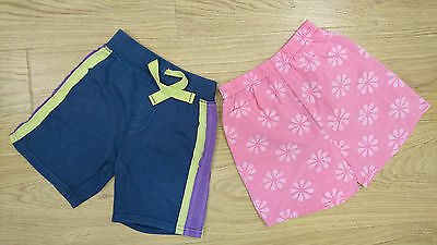 Next Marks & Spencer Baby Girls Shorts Age 12-18 Months Bundle