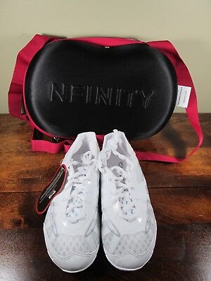 NEW Nfinity Vengeance Youth Cheer Shoes ~ Sz Y3 Brand New w/Tags/Carrying Case
