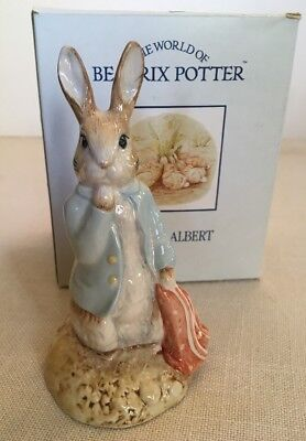 "Royal Albert Beatrix Potter ""peter And The Red Pocket Handkerchief"" Bp6B"