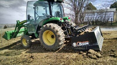 Bison 7' Heavy Duty 3-Point Box Blade,Hydraulically Operated Scarifier Shanks