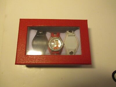 Betty Boop 2013 King Features Watch Watch W/Interchangeable Bands Needs Battery