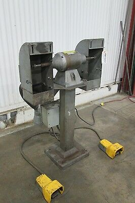 Pedestal Buffing Machine - Used - AM15682