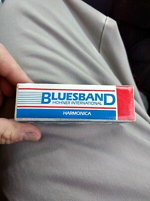 Hohner Bluesband Harmonica Key of C Excellent