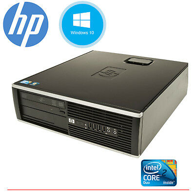 CLEARANCE!!! Fast HP Desktop Tower Computer PC Core 2 Duo WINDOWS 10 Home