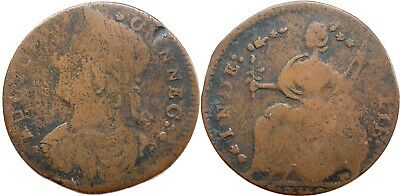 1787 Connecticut Copper, Miller 39.2-ee, the AUCTOBI Obverse, Fine, nice color!