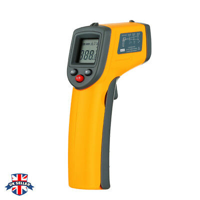 Infrared IR Laser Point Digital Thermometer Gun Infa Red Pointer Non-Contact UK
