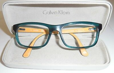 36861ae2163 CALVIN KLEIN GREEN glasses frames. CK 5820. With case. - £10.00 ...