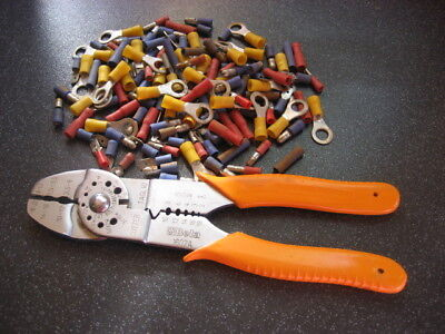 Beta 1602A Crimping Pliers Unused For Insulated Terminals Wire Strippers Cutters