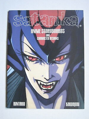 Satanika Anime Storyboards and Character Designs INCLUDING ORIGINAL CELL