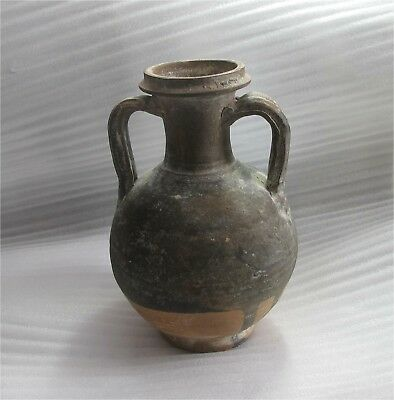 Roman Imperial Antique Pottery Redware Terracotta Flagon Jug Black Sea 2