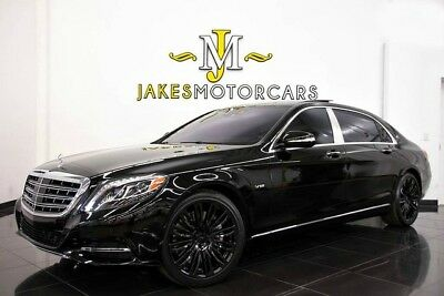 2016 Mercedes-Benz S-Class Maybach S600**$202,975 MSRP!**EXECUTIVE REAR SEATS 2016 MAYBACH S600~$202,975 MSRP!~EXECUTIVE REAR SEATING~REAR REFRIGERATOR~LOADED