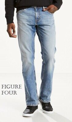e406a2cea1 MENS LEVIS 527 Slim Boot Cut Jeans Fast Ship Priority Stretch ...