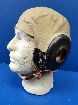Aaf Pilot'S Summer Flying Helmet Type An-H-15
