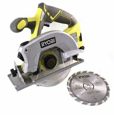 New Ryobi P506 18-Volt 5 1/2 Inch Cordless Circular Saw W/Blade (Upgraded P505)