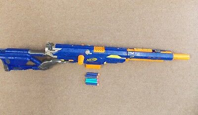 Nerf Longstrike CS-6 Dart Gun Sniper Rifle N-Strike Blaster Elite Discontinued