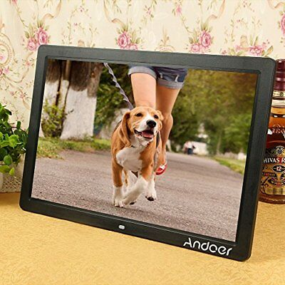 Andoer 17'' Cornice Foto Digitale HD Grande Schermo LED per Musica e Film MP3 /