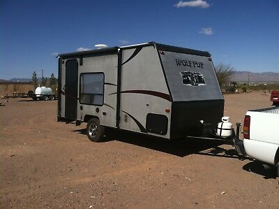 2014 wolf pup 17rp toy hauler limited edition by forest river