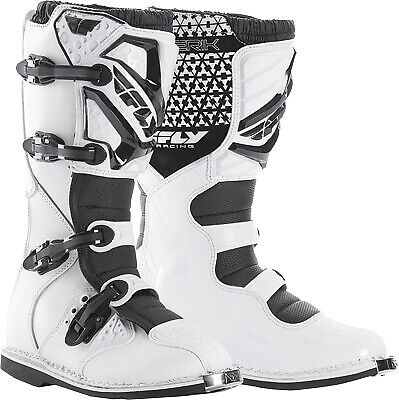 Fly Racing 364-56404 Youth Maverik MX Boots White 4