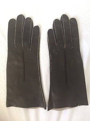 Vintage, Retro,1950s, Women's Leather Gloves