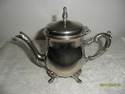 "Antique/Vintage Silver-Plated  Footed Ornate Creamer ~ 5.5"" Tall ~ Gorgeous!!!"