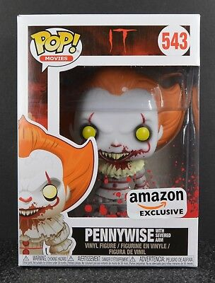 Funko POP Pennywise with Severed Arm #543 Amazon Exclusive
