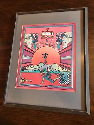 1970 QUEENS NEW York City Yellow Pages Telephone Book PETER MAX