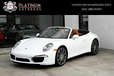 911 Carrera 4S ** MSRP $142,535 ** White Porsche 911 with 13,523 Miles available now!