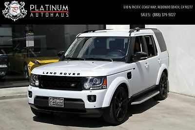 LR4 HSE LUX  *** LANDMARK EDITION *** 2016 Land Rover LR4, Yulong White Metallic with 24,112 Miles available now!