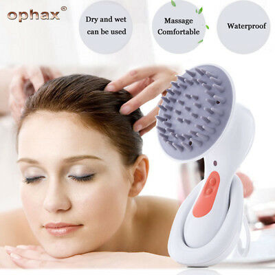 Head Scalp Massager Brain Relaxation Headache Stress Relief Rechargeable Device
