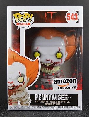 Funko POP Pennywise with Severed Arm #543 Amazon Exclusive (Damaged Box)