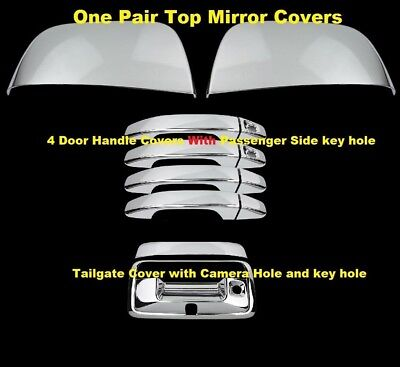 04-13 Chevy Colorado+GMC Canyon Triple Chrome plated ABS Full Mirror Cover