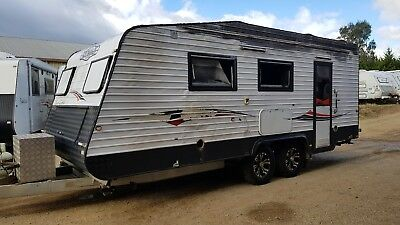 2013 Billabong Kidman Caravan Shower Toilet  Fire Damaged *WATCH VIDEO*