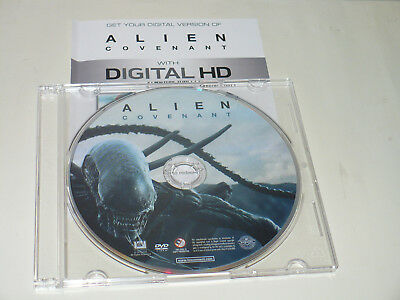 """New from box set """"Alien Covenant"""" movie DVD ONLY plus FREE digital code"""