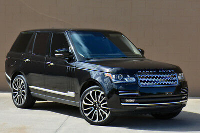 2014 Land Rover Range Rover Autobiography Supercharged 2014 Range Rover Autobiography Supercharged Executive Rear Seating