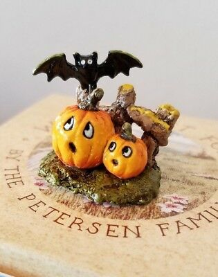 Wee Forest Folk  A-06 SPOOKED PUMPKINS   Mint