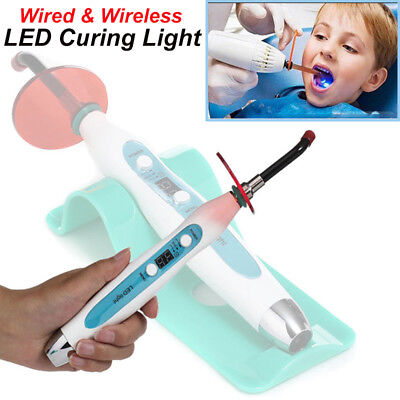 1200~2000mW LED Curing Light Dental Wired Wireless Cordless Dentist Therapy Lamp