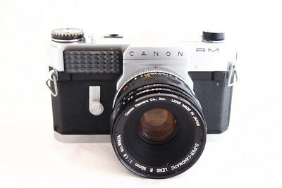 1960s Canon Canonflex RM with lens