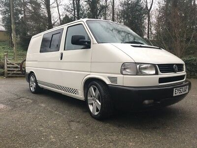 VW T4 white 888 Special