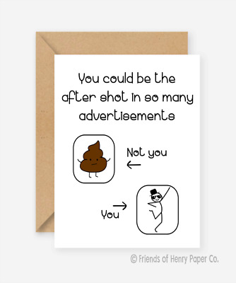 Humour Birthday card Recycled Friends of Henry Wise owl Funny card