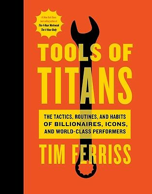 Tools of Titans by Timothy Ferriss (2016, eBooks)