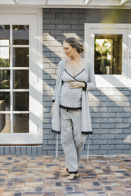 NEW nursing cami in grey marle Maternity