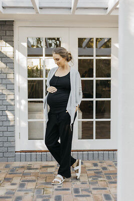 NEW lounge wrap in grey marle Maternity