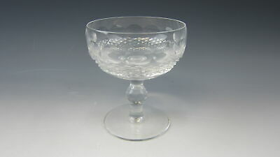 Waterford Irish Crystal COLLEEN-SHORT STEM Champagne Tall Sherbet EXCELLENT