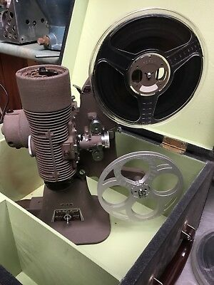 Rare Bell Howell 8mm Film Projector Model 606 London 400w Complete Working qzzq