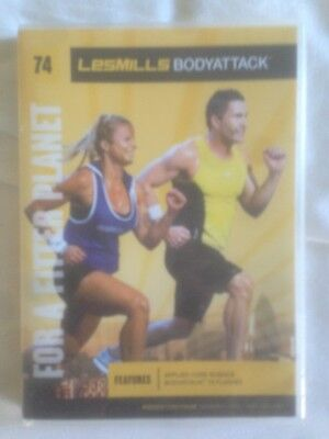 Bodyattack 74. DVD and CD. In good condition.