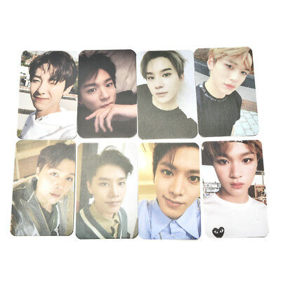 5pcs KPOP Nct127 2018 Empathy Paper Cards Photocards Poster Post Cards Random