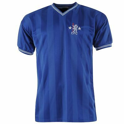 Score Draw Hommes Maillots Rétro Manches Courtes Chelsea Football Club - 1986