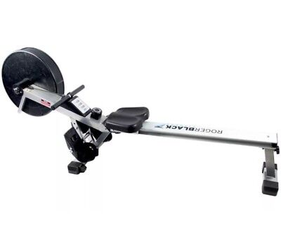 ROGER BLACK - Air Rower Rowing Machine - Used, Good Condition