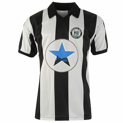 Score Draw Hommes Maillots Rétro Manches Courtes Newcastle United - 1982